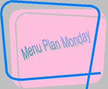 Menu Plan Monday 2