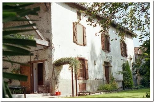 Hameau de LANNES, chez Vincent & Nadya: la maison