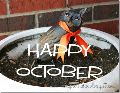 Happy October from mudpiestudio.blogspot.com