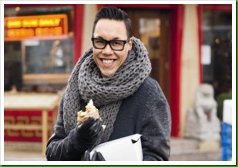 Gok Wan scarf