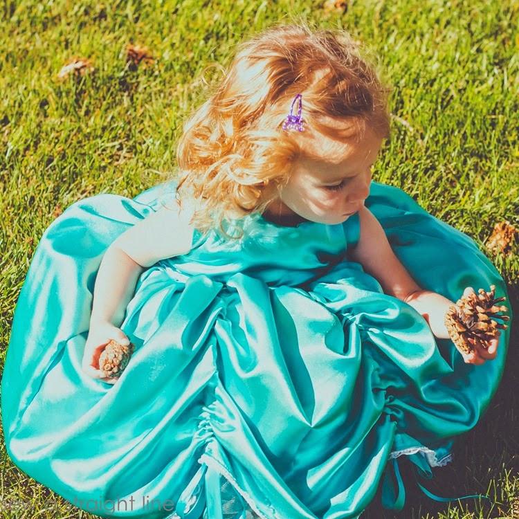 5 & 10 designs princess dress sew a straight line-21