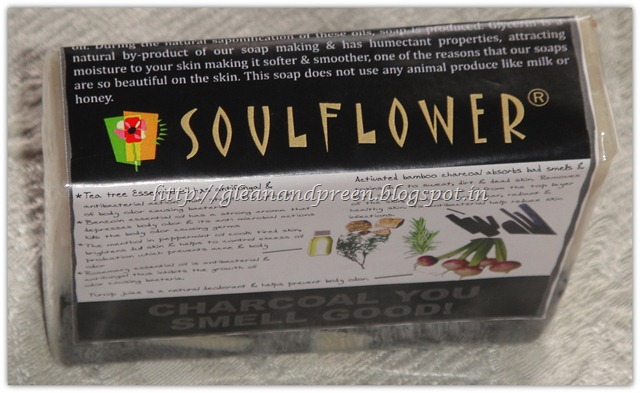 Soulflower -Charcoal You Smell Good