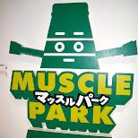 muscle park in odaiba tokyo japan in Odaiba, Tokyo, Japan