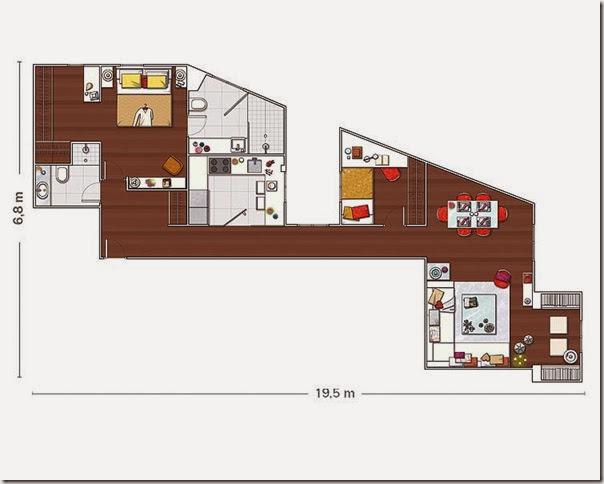 case e interni - appartamento barcellona - colori decorazione (12)