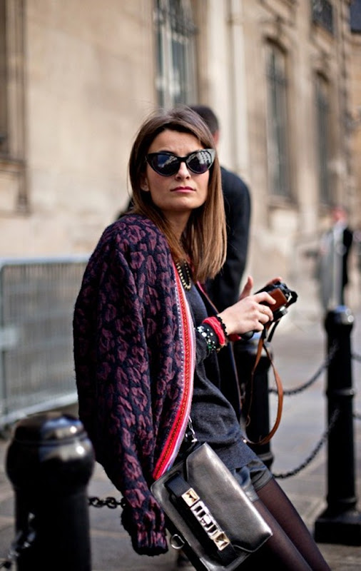 Paris Ready to Wear Fashion Week September 2012 Street Style (1)