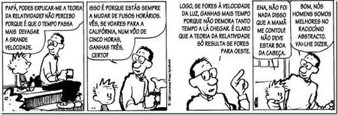 Calvin - Relatividade