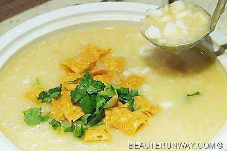 ParkRoyal Plaza Hotel Beach Road Lobster Congee with Fish Maw Soup and Shredded Abalone