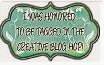 creative blog hop button