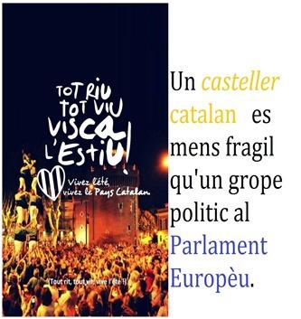 Castellers catalans a Perpinyà