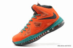 lbj10 fake colorway orange 1 01 Fake LeBron X