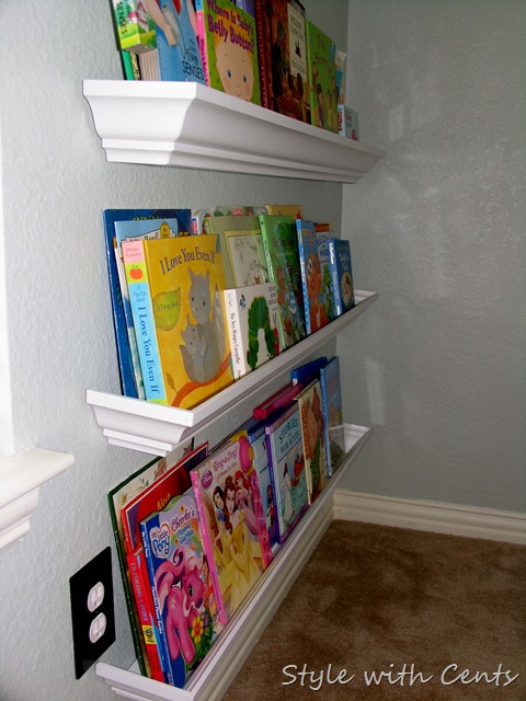 Creating an Inexpensive Playroom from Style with Cents www.stylewithcents.blogspot.com 5