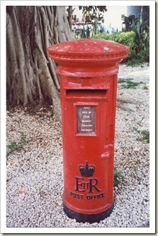 Bahamas Letterbox Old1