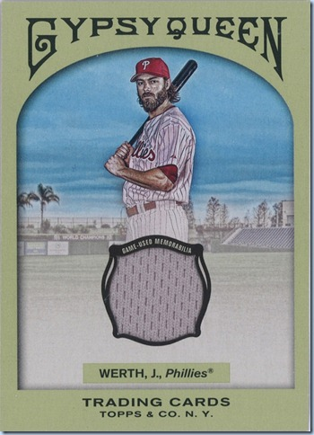 2011 Gypsy Queen Werth Jersey