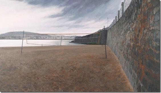 Playa de Ondarreta-Jesus-Mase-ENKAUSTIKOS