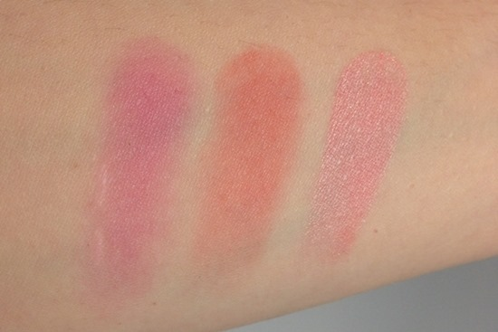 Clinique Plum Pop, Clinique Ginger Pop, Too Faced Candy Glow