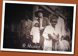 Karen Blixen. , Farah, Kamante, Juma et autres.
