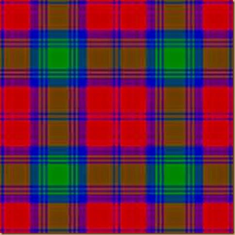 Clan Linsday tartan