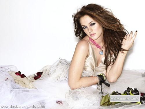 Leighton meester blair gossip girl garota do blog linda sensual desbaratinando  (166)