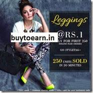 Styletag : Buy Vero Couture Designer Leggings at Rs. 100