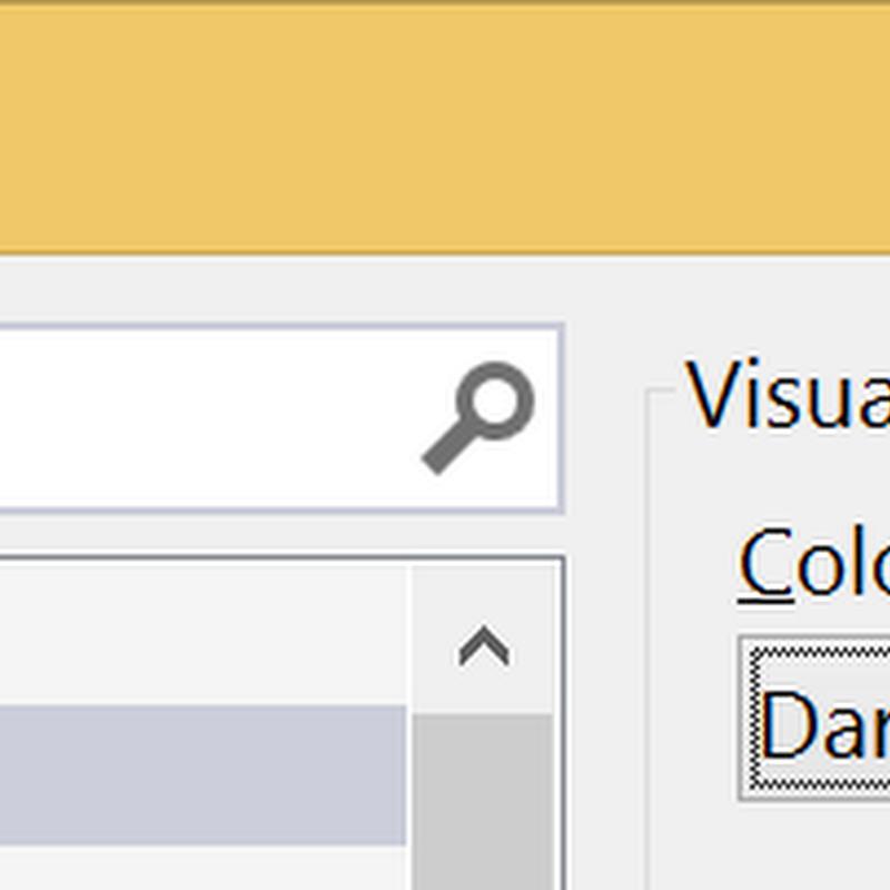 Visual Studio 2013 – Tema Değişikliği (Color Theme)