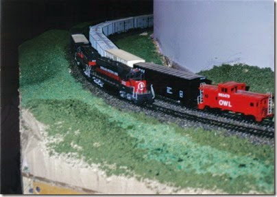 15 MSOE SOME Layout during TrainTime 2002