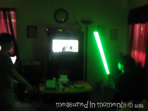Light saber battles pic 4
