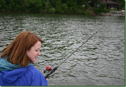 meg fishing