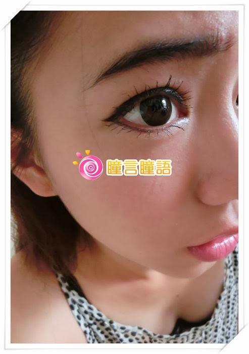 韓國NEO隱形眼鏡-自然美心機棕2