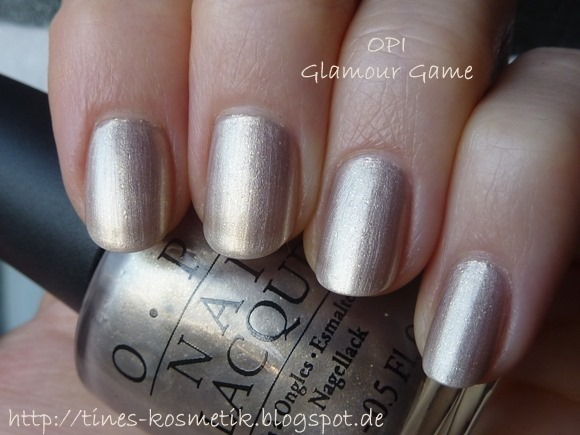 OPI Glamour Game 1
