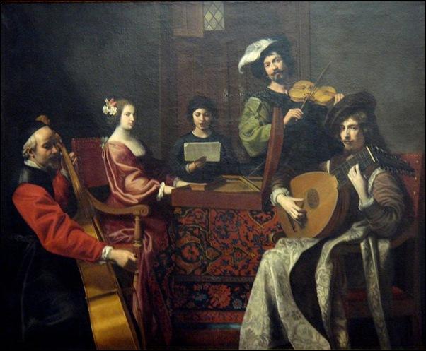 Nicolas Tournier, Le Concert
