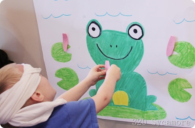 birthday party frog game