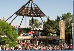 9896 Alberta Calgary Stampede Main Entrance - Victoria Park-Stampede LRT station