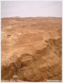 Фото самой крупной части легиона со стороны гор