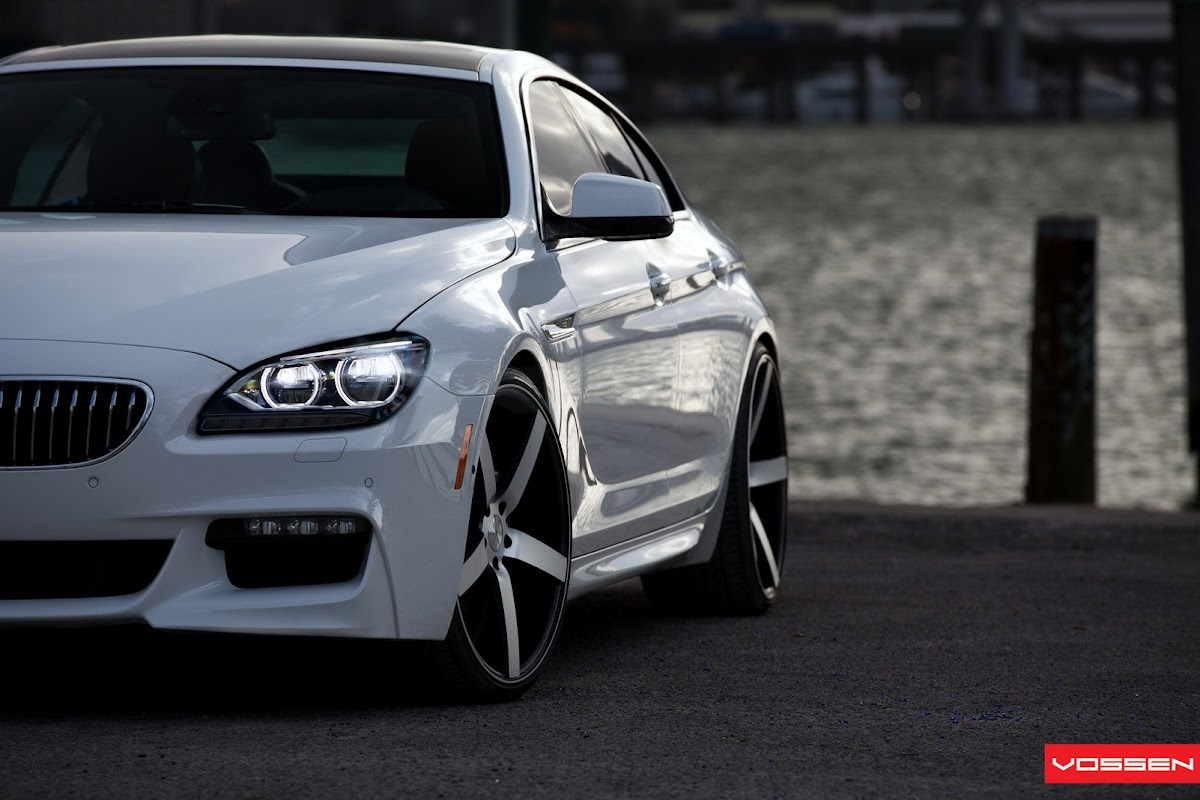 <b>BMW 6 Series</b> Gran Coupe with 22in <b>Vossen</b> VFS2 Wheels exclusively ...