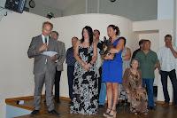 2013 - 14 juillet 2013 cérémonie Mme Broutin - Accueil des Nouveaux - remise de médailles
