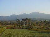 Gunung Kaba seen from the main road between Curup and Lubuk Linggau (Dan Quinn, August 2013)