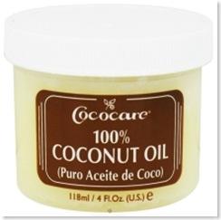 coconut oil -cococare