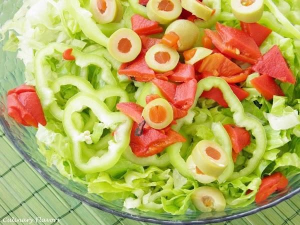 Green Salad with Sun-Dried Tomato Vinegrette.JPG