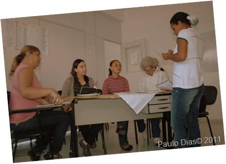 Foto 01 - Alunos da Escola de Gastronomia encenam Teatro em Inglês