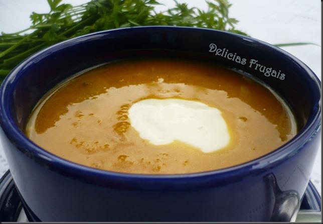 Creme de moranga com bacalhau - Delicias Frugais