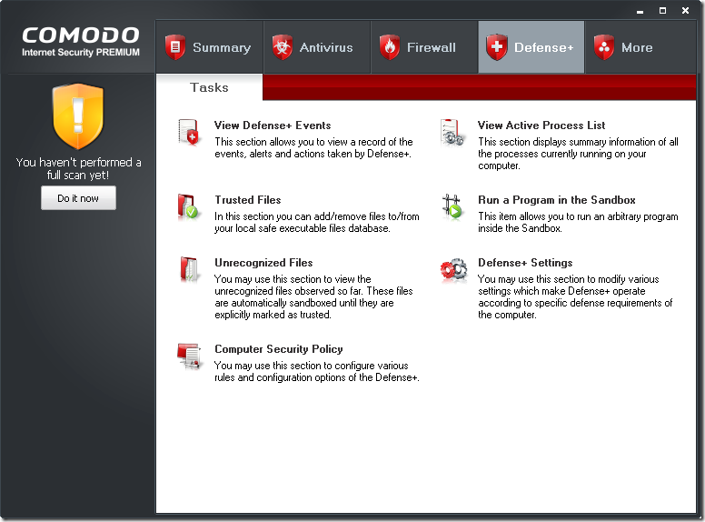 comodo internet security 4