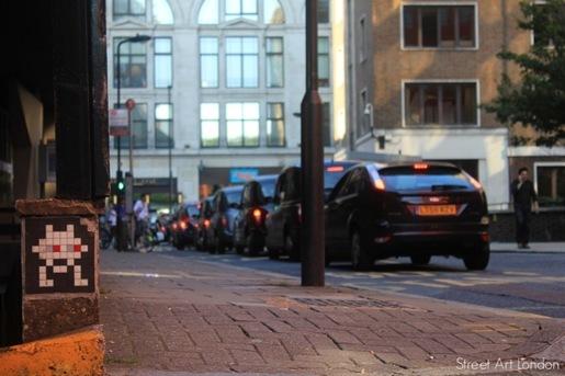 Invader Street Art London 3