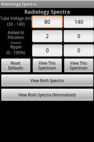 Radiology Spectra