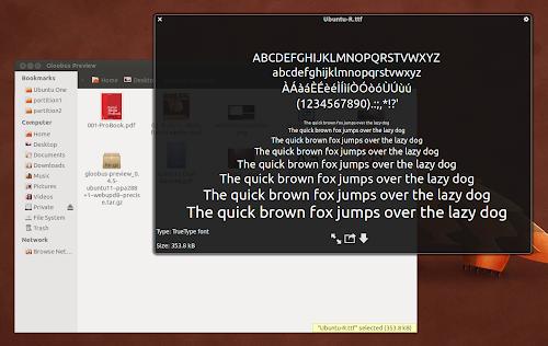 Gloobus Preview in Ubuntu