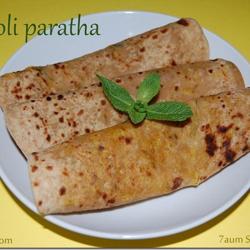 Mooli paratha / Radish paratha