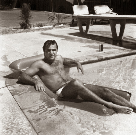 Burt Reynolds in Pool