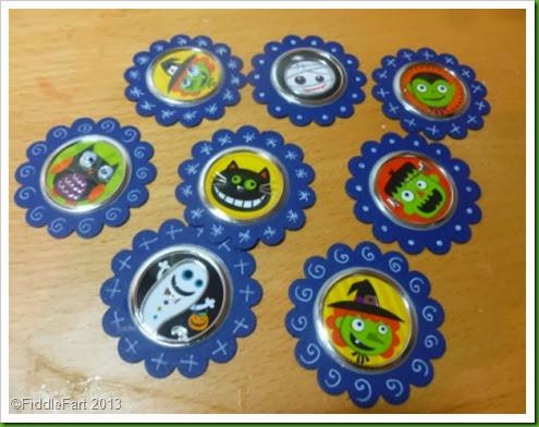 Hobbycraft Halloween Stickers.