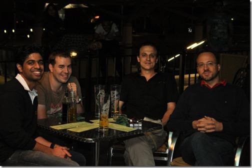 Jason, Kasper, Hrvoje and Tomislav