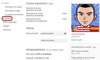 Aplicaciones autorizadas en Google