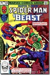 Marvel team up #124, el profesor poder regresa mas increible que nunca buscando su venganza contra Charles xavier, como siempre spidey en medio de todo.
